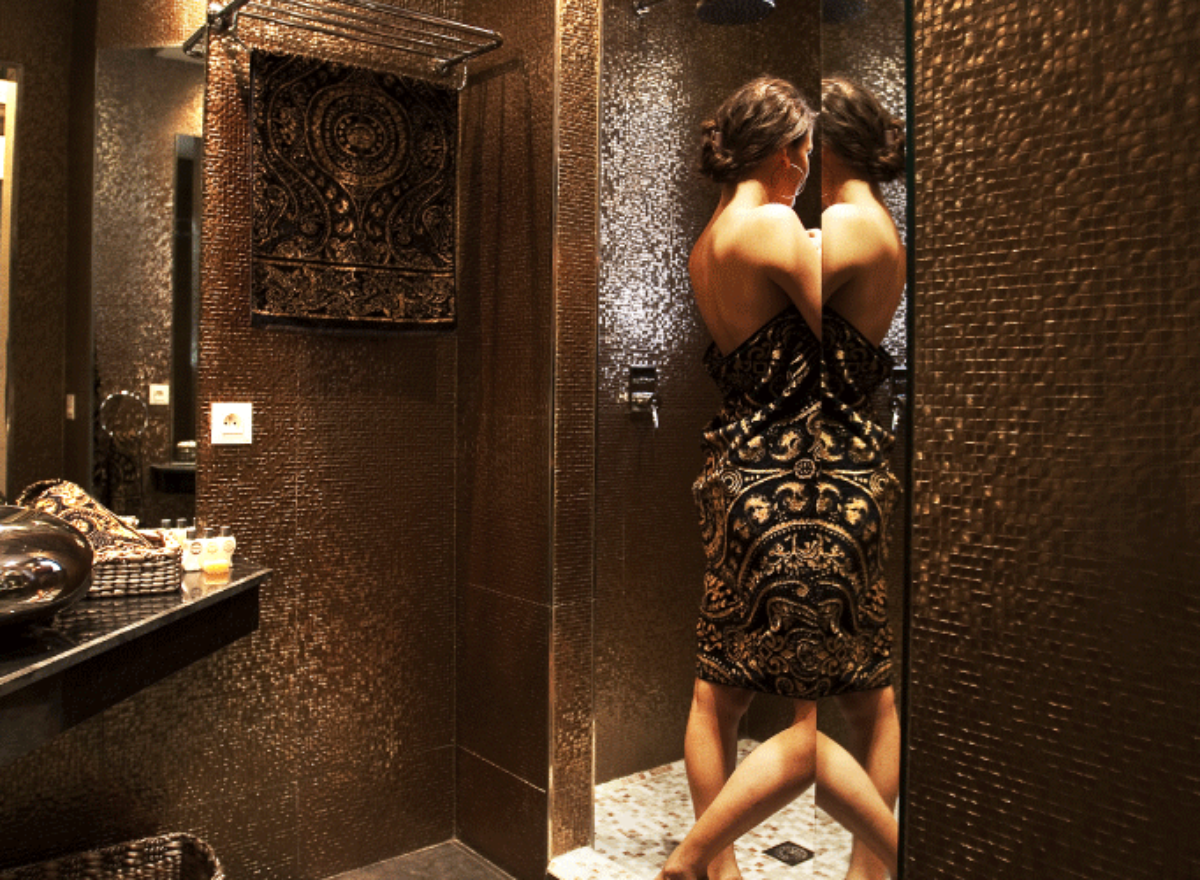 HOTEL PALMERAIE MARRAKECH DAR LAMIA, salle de bain