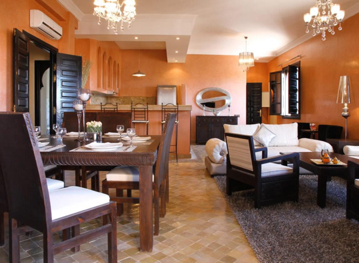 HOTEL PALMERAIE MARRAKECH DAR LAMIA, villa